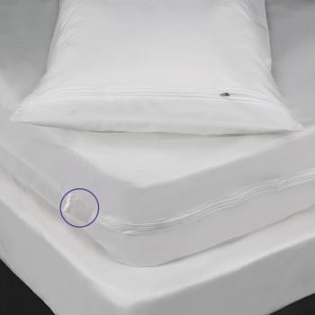 Bed Bug 6 Gauge Pillow Mattress and Box Spring Encasement