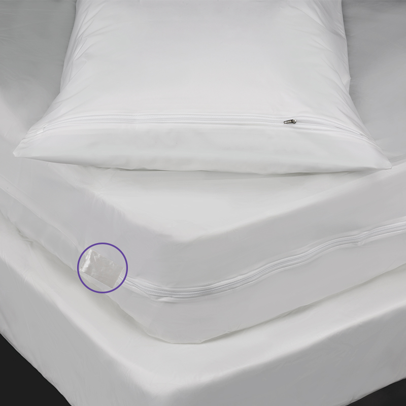 Bed Bug 6 Gauge Pillow Mattress and Box Spring Encasement